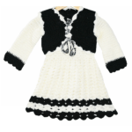 Yes Papa Girls Jacket Style Dress